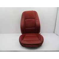 2007-2012 BMW 328i E92 #1076 Leather Heated Seat Cushion Set, Left Driver Red