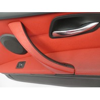 2007-2013 BMW 328i E92 #1076 Door Panel Pair Left & Right CORAL RED