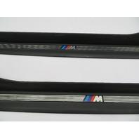 """2000 BMW Z3 M Roadster E36 #1077 OEM Door Sill Set """"M Script"""""""