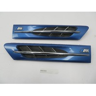 2000 BMW Z3 M Roadster E36 #1077 Hood Grill Gill Set Exterior Pair Blue OEM