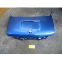 2000 BMW Z3 M Roadster E36 #1077 Trunk Lid Estoril Blue COMPLETE