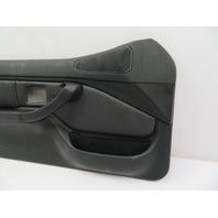 01 BMW Z3 Roadster E36 #1078 Black Door Panel Left & Right Pair W/Airbag