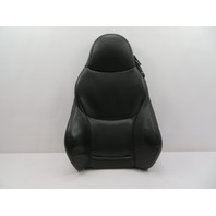 01 BMW Z3 Roadster E36 #1078 Driver Black Heated Sport Seat Backrest Cushion