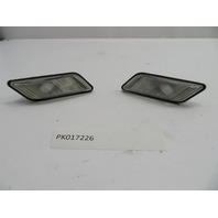 01 BMW Z3 Roadster E36 #1078 Clear Turn Signal Side Marker Light OEM Pair