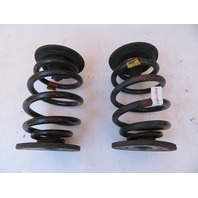01 BMW Z3 Roadster E36 #1078 Rear Suspension Coil Springs Left & Right