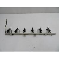 BMW Z3 Z4 E36 E85 E86 E46 325 525 #1078 2.5L M54 Fuel Gas Rail & Injectors