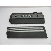 01 BMW Z3 Roadster E36 #1078 2.5L M54 Engine Fuel Rail Cover Pair