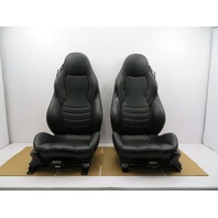 98-02 BMW Z3 M Roadster E36 #1079 Black Power Leather Heated Sport Seats