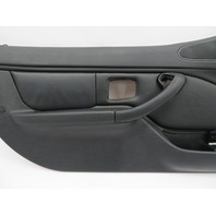 BMW Z3 M Roadster E36 #1079 Black Nappa Door Panel W/ Airbag Pair Left Right