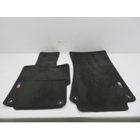96-02 BMW Z3 M Roadster E36 #1079 OEM Genuine Floor Mats Carpet Black