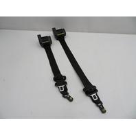 01 BMW Z3 Roadster E36 #1080 Right & Left Front Seatbelts Seat Belts Black