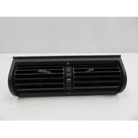 01 BMW Z3 Roadster E36 #1080 A/C Heat Center Dashboard Air Vent Black