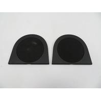 01 BMW Z3 Roadster E36 #1080 Rear Speaker Grill Trim Pair 8413513 8413514
