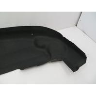 01 BMW Z3 Roadster E36 #1080 Rear Shelf Convertible Top Lining Carpet Trim Black