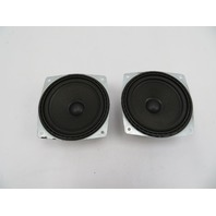 01 BMW Z3 Roadster E36 #1080 Front Haes Footwell Speaker Pair 65108386424