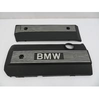 01 BMW Z3 Roadster E36 #1080 2.5L M54 Engine & Fuel Rail Cover Pair