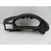 01 BMW Z3 Roadster E36 #1080 Black Dashboard Instrument Cluster Pod Trim Left