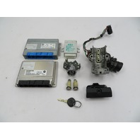 01 BMW Z3 Roadster E36 #1080 ECU DME TCU EWS Immobilizer Ignition Lock & Key Set