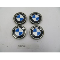 01 BMW Z3 Roadster E36 #1080 OEM Genuine Wheel Center Caps 68mm 4PCS 1095361