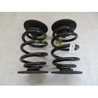 01 BMW Z3 Roadster E36 #1080 Rear Suspension Coil Springs Left & Right