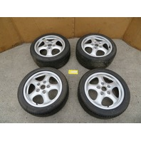 "Porsche 911 993 928 S4 944 951 968 #1082 17"" Carrera Cup 2 Wheels & Tires OEM"