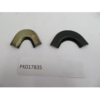 1987-1995 Porsche 928 S4 #1082 Rear Quarter Window Moulding Connection Trim Set