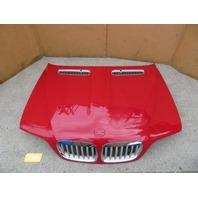 2004-2006 BMW X5 4.4L E53 #1083 Hood Imola Red OEM