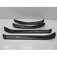 2004-2010 BMW 525i 550i E60 #1084 Door Sill Set Trim Black