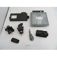 2007 BMW 525i 530i 530xi E60 #1084 CAS3 Immobilizer Alarm Ignition ECU Lock Set