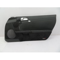 2005-2008 Porsche Boxster S Cayman 911 997 987 #1085 Door Panel, Right Black