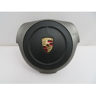 05-08 Porsche Boxster S Cayman 911 997 987 #1085 Round Steering Wheel Airbag