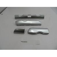 2005-2012 Porsche Boxster S Cayman 987 #1085 Silver Dashboard Trim