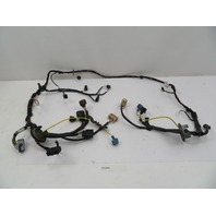 05-08 Porsche Boxster S 987 #1085 Front End Trunk Headlight Wire Wiring Harness