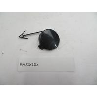 05-08 Porsche Boxster S 987 #1085 Tow Hook Cap Cover Trim, Front Bumper BLACK
