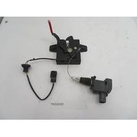 05-12 Porsche Boxster S Cayman 911 997 987 #1085 Hood Latch Lock & Actuator