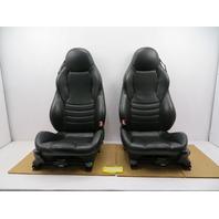 98-02 BMW Z3 M Roadster E36 #1087 Black Power Leather Heated Sport Seats