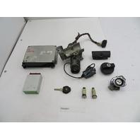 BMW Z3 M Roadster E36 #1087 S52 DME ECU EWS Immobilizer Ignition Lock & Key Set