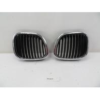 96-02 BMW Z3 M Roadster E36 #1087 Left Right Hood Kidney Grill Pair OEM