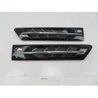 96-02 BMW Z3 M Roadster E36 #1087 Hood Grill Gill Set Exterior Pair Black OEM