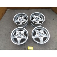 98-02 BMW Z3 M Roadster E36 #1087 OEM Roadstar Style 40 Staggered Wheels Set