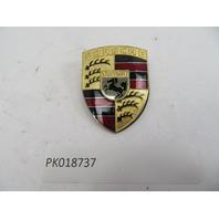 1978-1995 Porsche 928 S4 911 964 993 944 968 #1089 Hood Emblem Crest OEM GOLD