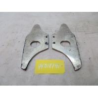1978-1995 Porsche 928 S4 #1089 Front Aluminum Tow Hook Eye Reinforcement Plates