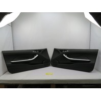 01-06 BMW M3 E46 Convertible #1093 Black Door Panel Pair
