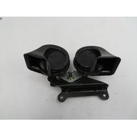 01-06 BMW M3 E46 #1093 Dual High Low Tone Horns W/ Bracket