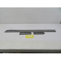 1986 Porsche 944 #1096 Exterior Protective Body Moulding Set