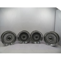 "Porsche 944 951 911 930 5x130 Vintage 3-Piece Staggered Light HRE 504 16"" Wheels"
