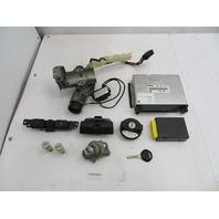 BMW Z3 Roadster E36 #1097 ECU DME EWS Immobilizer Ignition Lock & Key Set