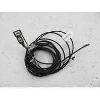 1986-1992 Toyota Supra MK3 #1099 Trunk & Fuel Gas Door Release Handles & Cables