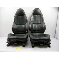 BMW Z3 Roadster E36 #1100 Black Power Heated Front Sport Seats