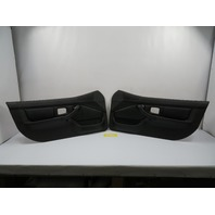 BMW Z3 Roadster E36 #1100 Black Door Panel Pair *Airbag Style*